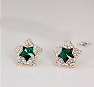 Earring Star,Jewelry 1 pair Fashionable Alloy Gold Daily / Casual
