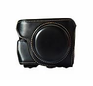 Borsa-Monospalla-Panasonic-Fotocamera digitale-Nero / Caffé / Marrone-Anti-polvere