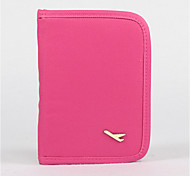 Candy Color Wallet Passport Holder Case