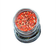 1 Bottle Nail Art Match Color Highlight Glitter Shining Colorful Powder Nail Makeup Beauty 02