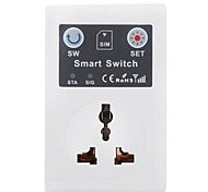 GSM Mobile Phone Short Message Remote Control Smart Socket Outlet Control Timing Wireless Remote Control Socket