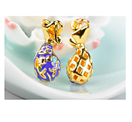 Women's Golden Alloy Pendant 1PC