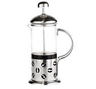600 ml de espuma chá pot francês pressão filtro de vidro filtro