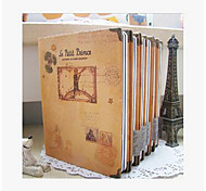 Korea Stationery Little Corner Metal Hardcover Book Diary Notebook Notepad