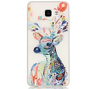 Deer TPU Material Glow in the Dark Soft Phone Case for Samsung Galaxy A310/A510(2016)