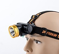 Headlamps LED - Cycling Easy Carrying 18650 180 Lumens USB Camping/Hiking/Caving / Everyday Use / Cycling/Bike / Fishing-Promend