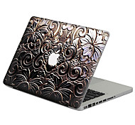 Gun Color Metal Flower Scratch Proof PVC Sticker For MacBook Air 11 13/Pro13 15/Pro with Retina13 15/MacBook 12