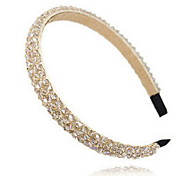 Korean Fashion Multi Crystal Plastic Headbands