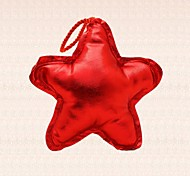 1pc Red Star Christmas Tree Decoration Pendant Saloon Bar Party Dinner Supplies