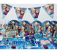 Luxury 78pcs Birthday Party Decorations Kids Evnent Party Supplies Party Decoration 6 People use