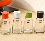 Kitchen Supplies Glass Liquid Seasoning Oil Bottle 170ML