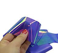 1pcs 100*4cm Nail Art DIY Glitter Shinning Dark Blue Beautiful Color Transfer Foil Stickers BL11