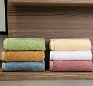 "1PC Full Cotton Wash Towel 11"" by 11"" Solid Multicolor Super Soft Strong Water Absorption Capacity"