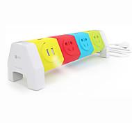 patch panel toma USB inteligente creativa regleta fila cableado mina
