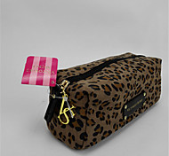 Hand Dinner Bag Zipper Leopard Print Cosmetic Bag Bag