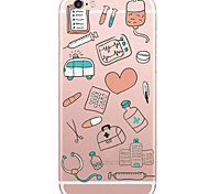 медицинские инструменты модели ПК жесткий чехол для iphone яблоко 6с плюс / 6 плюс / iphone 6S / 6 / iphone SE / 5с / 5