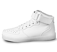 Other Other Casual Shoes Unisex Breathable High-Top Leisure Sports White / Black