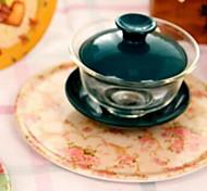 The Porcelain Pot Pad Plate Mat Cup Mat