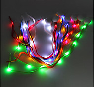High Brightness Fashion Colorful Led Light Shoelace Flash Shoelace