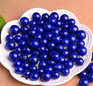 DIY Jewelry Blue Charms for Bracelet 4mm 95pcs