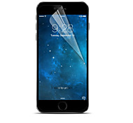 [5-pack] protetor de tela clara profissional lcd cristal de alta transparência com pano de limpeza para o iphone 6 / 6s