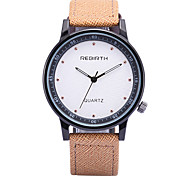 Men's Fashion Design PU Leather Strap Quartz Wrist Watch