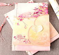 Kc08 Chinese Style Rhyme Flower Allure Notebook Notepad Recommend This Beautiful Color Pages Record
