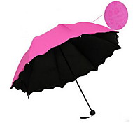 Vinyl Blossom Water Clear Umbrella Uv Umbrellas Can Be Customized Printed Logo Taobao Hot