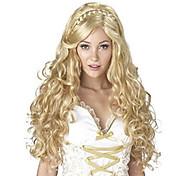 жен. Парики из искусственных волос Длиный Естественные кудри Блондинка Парик с косичками Африканские косички Парик для Хэллоуина