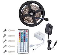 KWB ha portato strip5050 16.4ft / 5m striscia principale lightsrgb strisce led kit di illuminazione 44 chiave remote12v 3a