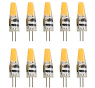 6 G4 2-pins LED-lampen T 1 COB 450 lm Warm wit / Koel wit Decoratief AC 12 V 10 stuks