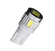 T10 10x de alta potência branco 5630 interior 6-SMD reversa lâmpada LED 921 912 906