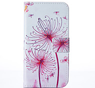 for Samsung Galaxy A3 A5 2017 Dandelion Leather Wallet for Samsung Galaxy A3 A5 A7 2016 2017