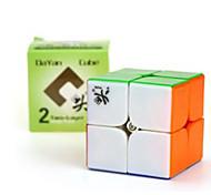 Juguetes / Calmantes para el estrés / Cubos Mágicos 2*2*2 / la magia del juguete Cubo velocidad suave rompecabezas cubo mágico Arco iris