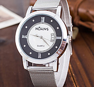 Women's Fashion Watch Wrist watch Casual Watch Quartz / Stainless Steel Band Cool Casual Silver Brand