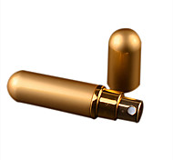 MUB 6ml Refillable Portable Mini perfume bottle &Traveler Aluminum Spray Atomizer Empty Parfum bottle