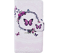 PU Leather Material Butterfly Pattern Phone Case for Huawei P9 Lite/P9/P8 Lite