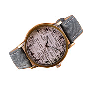 Women's Fashion Leather Casual Quartz Watch