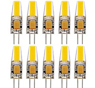 G4 Luci LED Bi-pin T 1 COB 400-500 lm Bianco caldo Luce fredda Bianco Decorativo Impermeabile DC 12 AC 12 AC 24 DC 24 Batteria V 10 pezzi