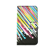 Scenery Pattern PU Leather Full Body Case with Stand and Card Slot for LG K10/K8