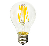 Jiawen 8W 2700K warm white Edison Style LED filament bulb AC220-240V