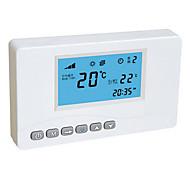 White Wireless Remote Thermostat Signal