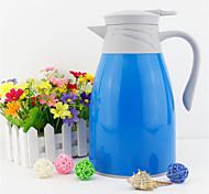 candy continental coloré isolation maison pot grande capacité Thermos de revêtement de verre pot de café