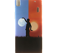 Scenery Painting Pattern TPU Soft Case for Lenovo K3 Note