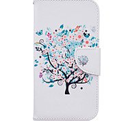 Tree Pattern PU Leather Full Body Leather Case with Card Slots for Motorola Moto G4 Plus/G4