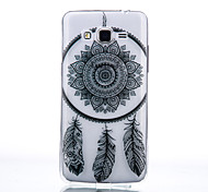TPU Material Campanula Pattern Cellphone Case for Samsung Galaxy J7/J510/J5/J310/G530/G360