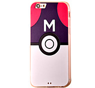 Letter Pattern PC Material Phone Case for iPhone 5 5S 5E 6 6S 6 Plus 6S Plus