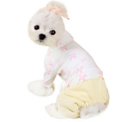Dog Coat Blue / White / Pink Dog Clothes Winter Fashion