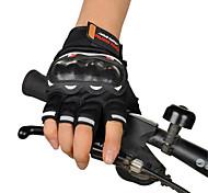 мотогонок перчатки полу пальцем по пересеченной местности летом верхом мотоцикл полу палец перчатки мотоциклист