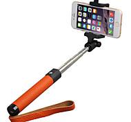 Con Cable selfie palillo Con Un cable / Un selfie Palo para Android / iOS